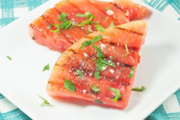Grilled Watermelon Wedges
