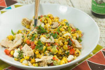 Summer Corn Tuna Salad