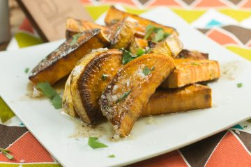 Browned Butter Maple Sweet Potatoes