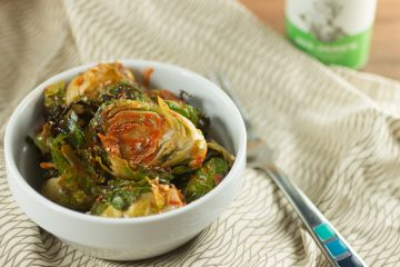 Buffalo Roasted Brussels Sprouts