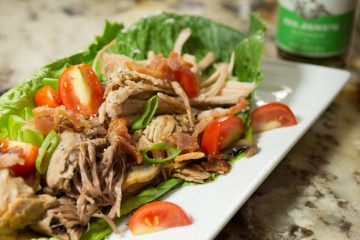 Slow Cooker Pork Lettuce Wraps