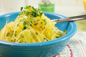 Instant Pot Pumpkin Spiced Spaghetti Squash