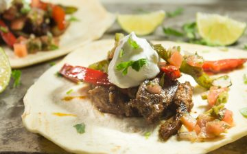 Barbecue Steak Fajitas