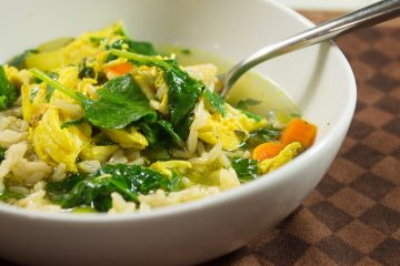 Turmeric Chicken and Rice Soup
