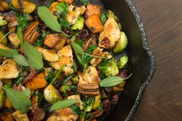 Fall Harvest Chicken Skillet