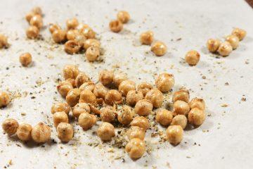 Crispy Seasoned Chickpeas