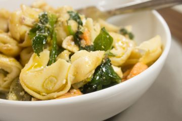 Lemon Vegetable Tortellini