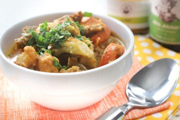 Spring Veggie Curry Chicken Stew