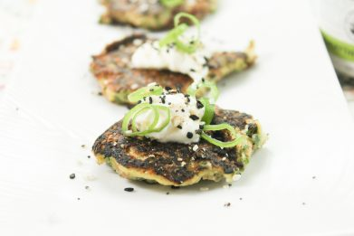 Buttermilk Scallion Pancakes
