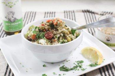 Everyday Lentil and Quinoa Salad