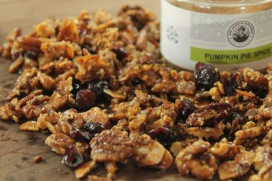 Grain Free Pumpkin Pie Granola