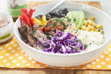 Chipotle Steak and Rice Bowls