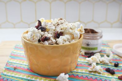 Pumpkin Spice Popcorn Mix