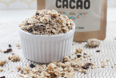 Caramelized Cacao Granola