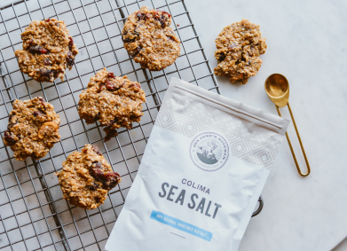 No-Bake Salted Peanut Butter and Fruit Cookies