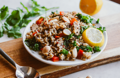 Quinoa and Brown Rice Tabbouleh