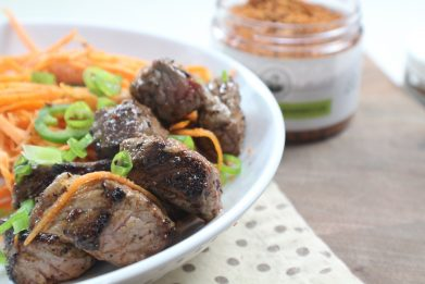 Steak and Sweet Potato Bowl