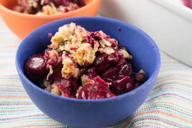 Pumpkin Spiced Berry Crisp