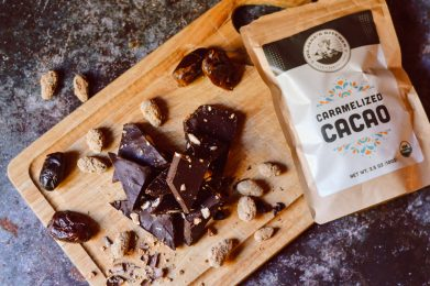 Caramelized Cacao Holiday Chocolate Bar