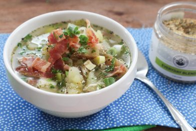 Bacon and Potato Leek Soup