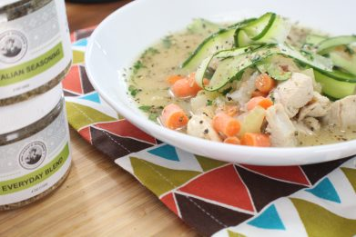 Nana's Chicken and Zoodle Soup