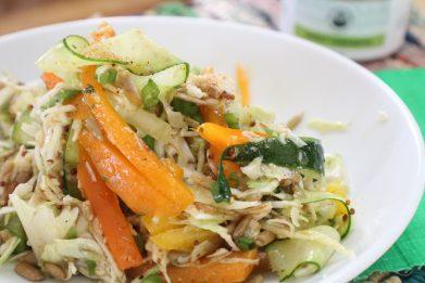 Citrus Chicken and Veggie Noodle Salad