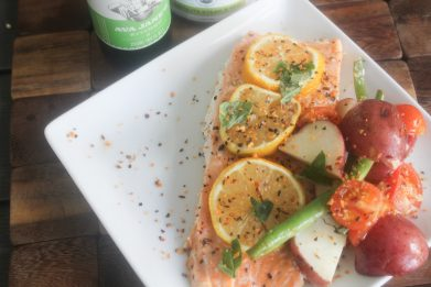 Grilled Salmon Foil Packs