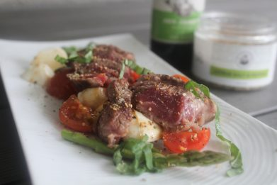 Steakhouse Caprese Salad